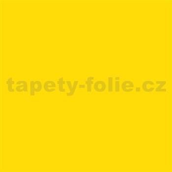 Samolepící tapety žlutá mat 45 cm x 15 m