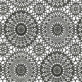 Samolepící tapety kontura černá 45 cm x 15 m