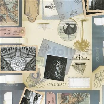 Samolepící tapety dopisy 45 cm x 15 m