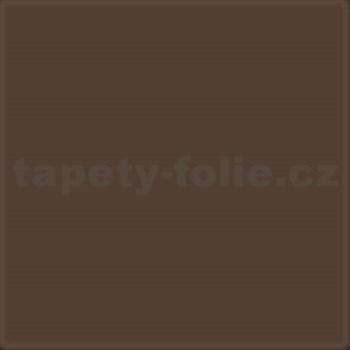 Samolepící tapety hnědá mat 45 cm x 15 m