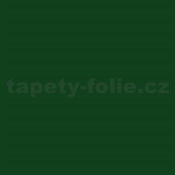 Samolepící tapety tmavě zelená mat 45 cm x 15 m