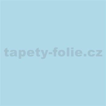 Samolepící tapety pastelová modrá lesklá 45 cm x 15 m