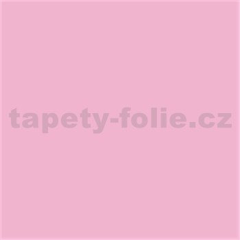 Samolepící tapety pastelová růžová lesklá 45 cm x 15 m