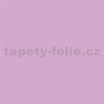 Samolepící tapety světle fialová lesklá 45 cm x 15 m