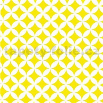 Samolepící tapety Elliot žlutý 45 cm x 15 m