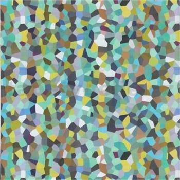 Samolepící tapety kostičky modro-zelené 45 cm x 15 m