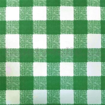 Samolepící fólie káro zelené - 45 cm x 15 m