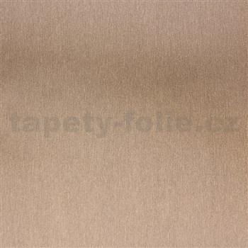 Samolepící fólie nerezová zlatá - 45 cm x 15 m