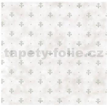 Samolepící fólie kašmírový vzor šedý na krémovém podkladu- 45 cm x 15 m