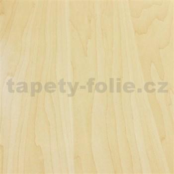 Samolepící fólie bukové přírodní dřevo - 67,5 cm x 15 m