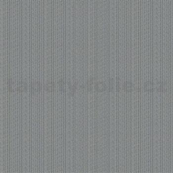 Vliesové tapety na zeď IMPOL Giulia jednobarevná stříbrná se strukturou