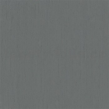 Vliesové tapety na zeď IMPOL Giulia jednobarevná tmavě šedá s jemnými metalickými proužky