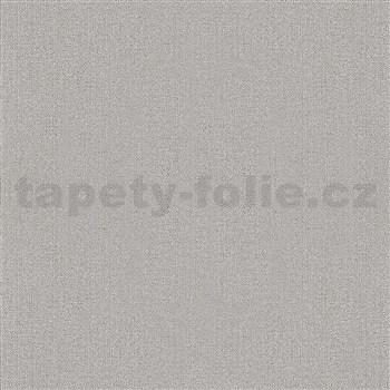 Vliesové tapety na zeď IMPOL Giulia jednobarevná s textilní strukturou hnědá