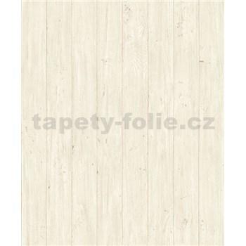Vliesové tapety na zeď Facade dřevěná prkna hnědé