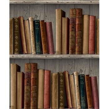 Vliesové tapety na zeď Facade knihovna