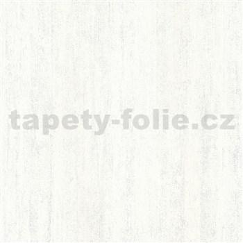 Vliesové tapety na zeď IMPOL Hailey vertikální stěrka bílá s třpytkami