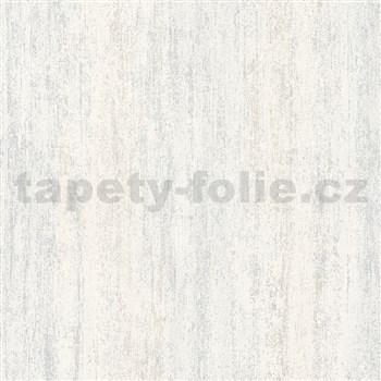 Vliesové tapety na zeď IMPOL Hailey vertikální stěrka hnědo-bílá s třpytkami