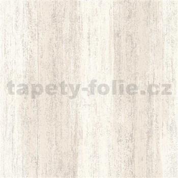 Vliesové tapety na zeď IMPOL Hailey vertikální stěrka světle hnědá s třpytkami