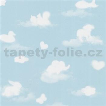 Papírové tapety na zeď Happy Kids 2 - obloha modrá