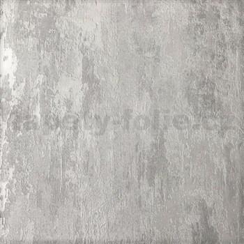Vliesové tapety na zeď Il Decoro industriální omítka šedá