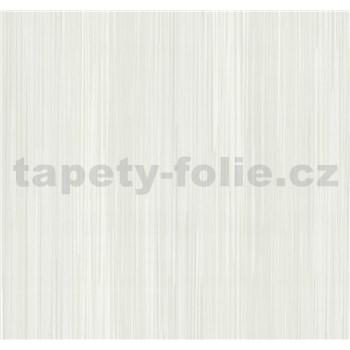Vliesové tapety na zeď Infinity proužky bílo-šedé