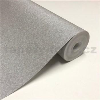 Luxusní vliesové tapety na zeď IMPOL metalické stříbrné