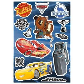 Samolepky na zeď Disney Cars 3 rozměr 50 cm x 70 cm