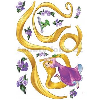 Samolepky na zeď Disney Princess Rapunzel rozměr 100 cm x 70 cm