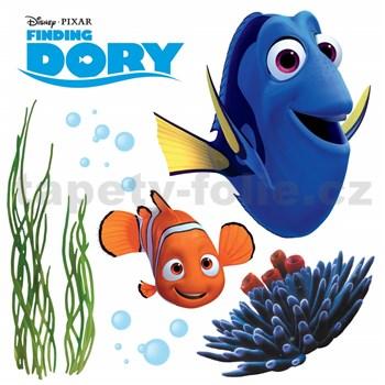 Samolepky na sklo Disney Hledá se Dory rozměr 31 cm x 31 cm