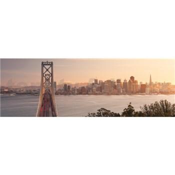 Vliesové fototapety Kalifornie rozměr 368 cm x 124 cm