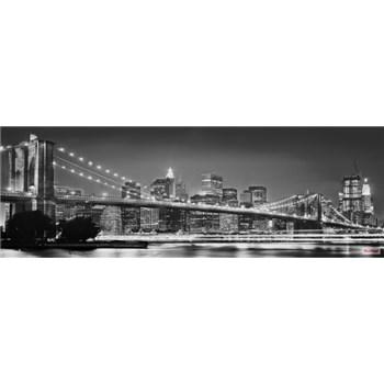 Vliesové fototapety Brooklyn Bridge rozměr 368 cm x 124 cm