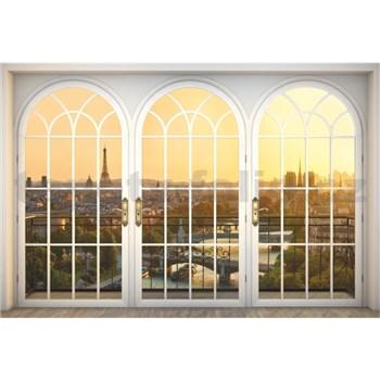 Vliesové fototapety krásný výhled rozměr 368 cm x 248 cm