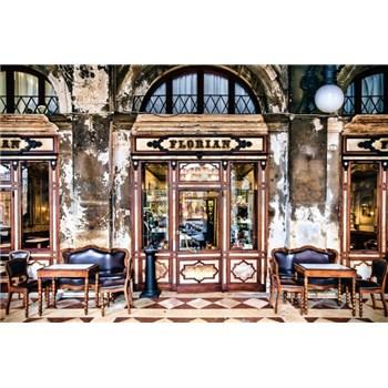 Vliesové fototapety kavárna Florian rozměr 368 cm x 248 cm