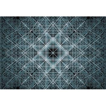 Vliesové fototapety 3D Matrix rozměr 368 cm x 254 cm