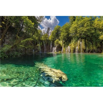 Fototapety Eden Falls rozměr 368 cm x 254 cm