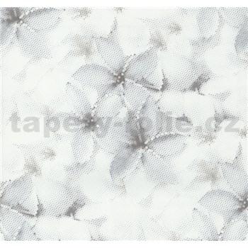 Vliesové tapety na zeď G. M. Kretschmer květy modro-hnědé