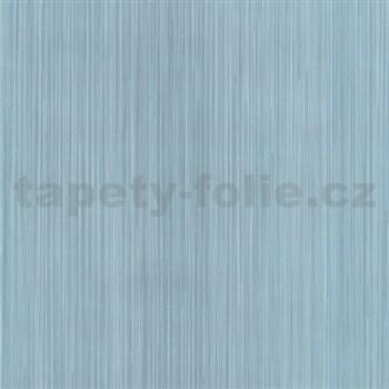 Vliesové tapety na zeď G. M. Kretschmer II proužky jemné tmavě modré - POSLEDNÍ KUSY