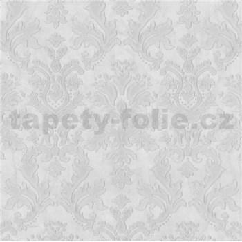 Vliesové tapety na zeď G. M. Kretschmer II zámecký ornament bílo-šedý