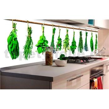 Samolepící tapety za kuchyňskou linku bylinky rozměr 180 cm x 60 cm