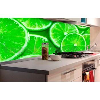Samolepící tapety za kuchyňskou linku limetky rozměr 180 cm x 60 cm