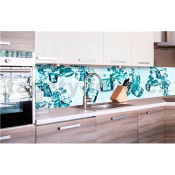 Samolepící tapety za kuchyňskou linku kostky ledu rozměr 260 cm x 60 cm