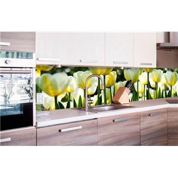 Samolepící tapety za kuchyňskou linku tulipány rozměr 260 cm x 60 cm