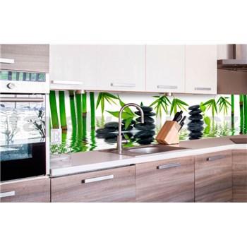 Samolepící tapety za kuchyňskou linku ZEN kameny rozměr 260 cm x 60 cm
