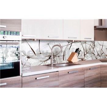 Samolepící tapety za kuchyňskou linku létající pampelišky, rozměr 260 cm x 60 cm