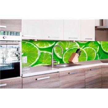 Samolepící tapety za kuchyňskou linku limetky rozměr 260 cm x 60 cm
