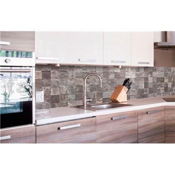 Samolepící tapety za kuchyňskou linku dlaždice rozměr 260 cm x 60 cm