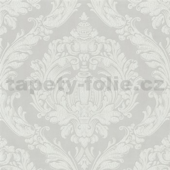 Vliesové tapety na zeď Classico - barokní vzor béžový MEGA SLEVA