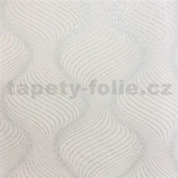 Vliesové tapety na zeď La Veneziana 3 šroubovice krémová