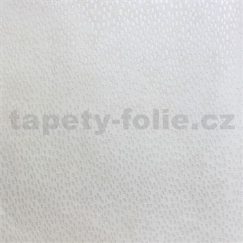 Vliesové tapety na zeď La Veneziana 3 kapky bílé na středně hnědém podkladu