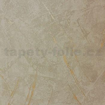 Vliesové tapety na zeď La Veneziana 3 omítkovina hnědá